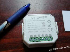niet-aangesloten smart zigbee switch