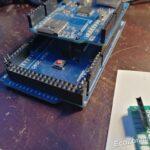 Foto van Arduino Mega met Internet Hat